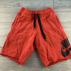 Men's Nike Red Basketball Shorts Size Small sweats